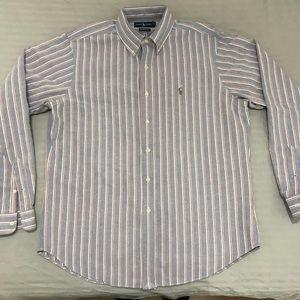 Ralph Lauren Classic Button Collar Size Large
